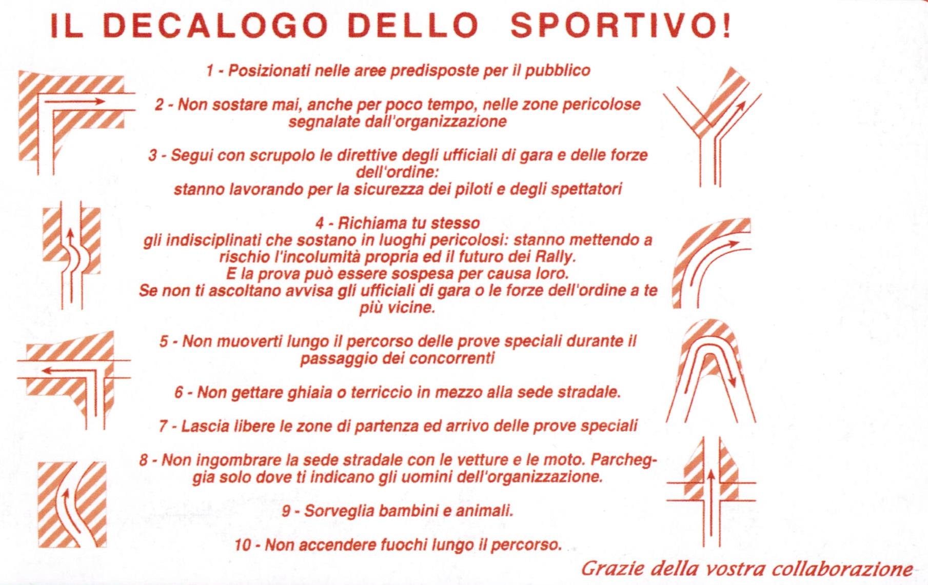 il-decalogo-dello-sportivo-nei-rally